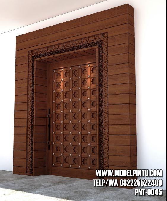 Model Desain Pintu Rumah Mewah | Model Pintu Minimalis ...