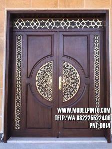 Model Pintu Rumah Mewah Kayu Jati TPK