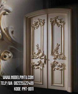 Model Pintu Rumah Mewah Kupu Tarung Ukiran