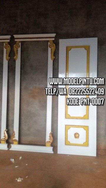 Model Pintu Rumah Mewah Minimalis Ukiran Bunga