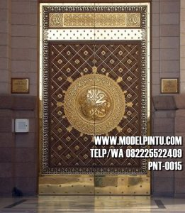 Model Pintu Utama Masjid Jati