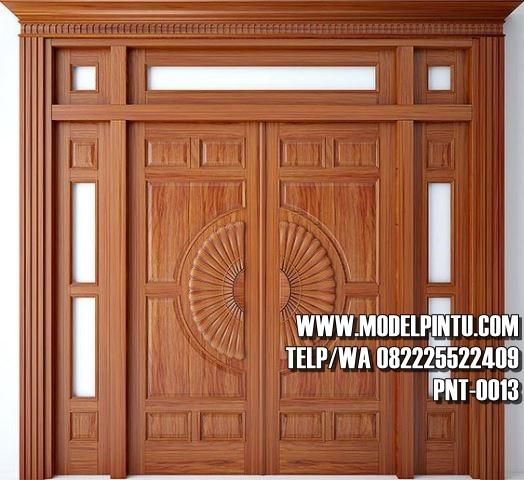 Model Pintu Utama Rumah Mewah Jati