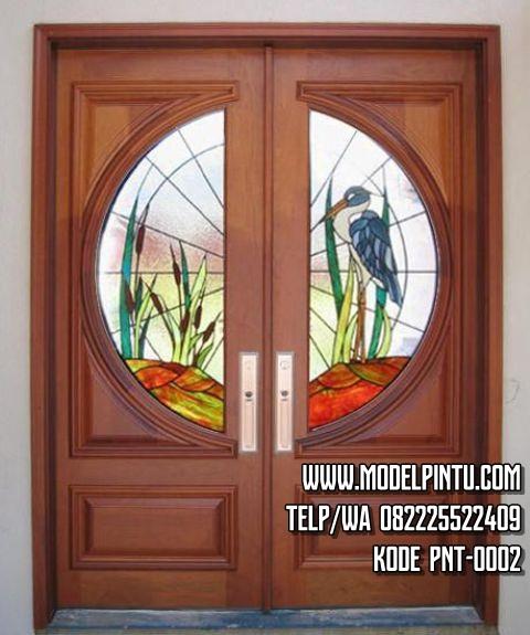 Pintu Utama Rumah Kayu Jati