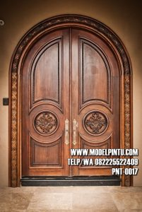 Pintu Utama Rumah Mewah Jati