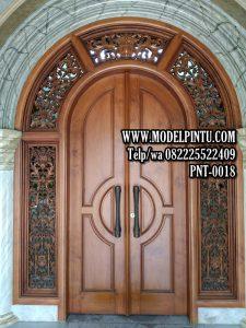 Model Pintu Masjid Jati Ukiran B