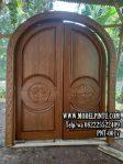 Model Pintu Masjid Kayu Jati Ukiran A