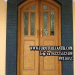 Pintu Rumah Mewah Kayu Jati Classic