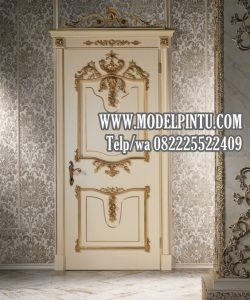 Model Pintu Rumah Mewah Ukiran Jati Minimalis