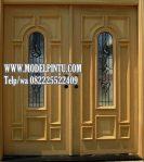 Model Pintu Utama Rumah Mewah Jati Asli