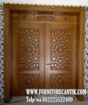 Pintu Masjid Kayu Jati Bagus TPK B