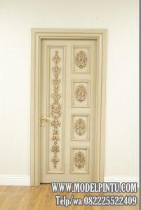 Pintu Rumah Mewah Ukiran Minimalis Cantik