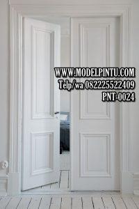 Pintu Utama Minimalis Kayu Jati