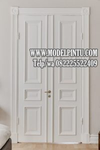 Pintu Utama Rumah Mewah Jati Minimalis Duco
