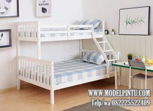Tempat Tidur Tingkat Kayu Minimalis Murah