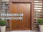 Daun Pintu Rumah Mewah Kayu Jati