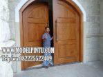 Jual Pintu Gereja Jati Minimalis Mewah
