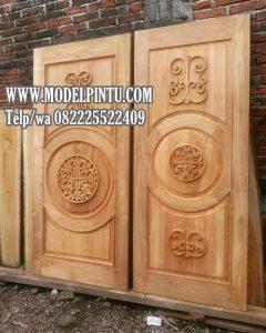 Model Daun Pintu Jati Minimalis Kuno Ukiran