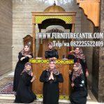 Model Mimbar Masjid Jati Ukiran Minimalis Mewah Cantik