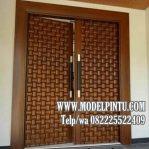 Model Pintu Kusen Jati Untuk Perumahan Mewah Minimalis Klasik