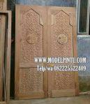 Model Pintu Kusen Masjid Kayu Jati