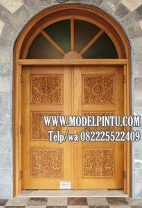 Model Pintu Kusen Masjid Kayu Jati TPK