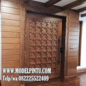 Model Pintu Rumah Mewah Jati Bagus