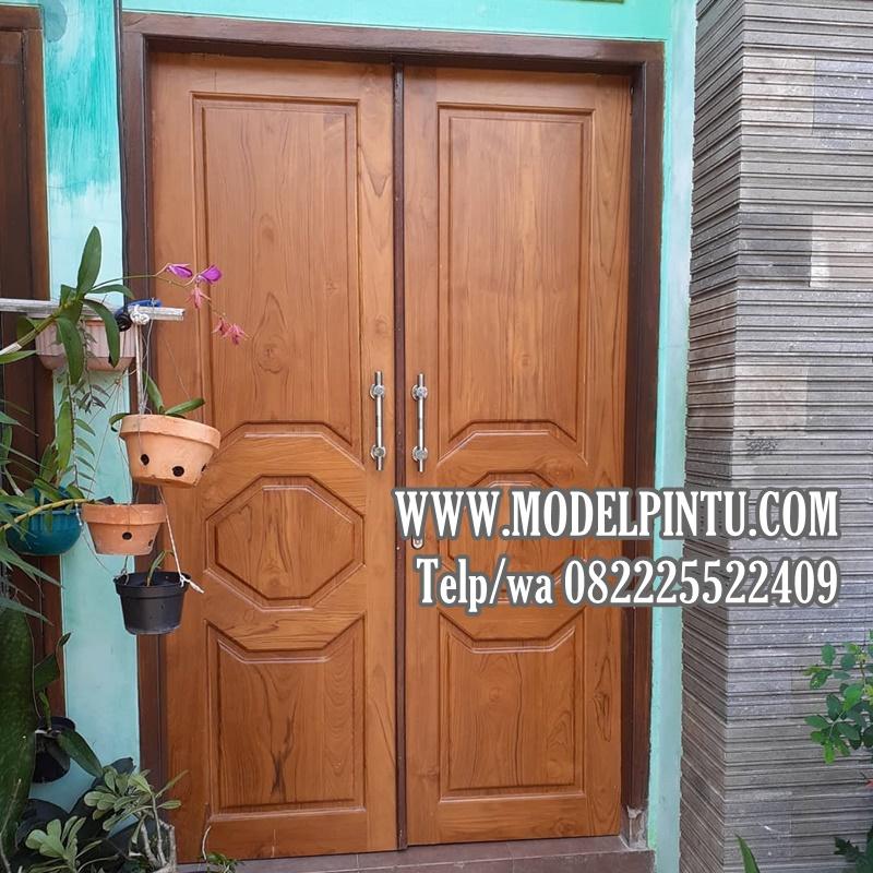 Model Pintu Utama Rumah Mewah Jati Di Perumahan