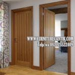 Jual Daun Pintu Rumah Mewah Jati Minimalis Elegan
