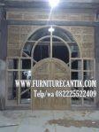 Model Pintu Kusen Masjid Kayu Jati Asli