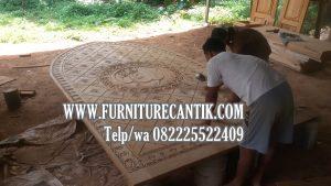 Model Pintu Kusen Masjid Kayu Jati Sulawesi