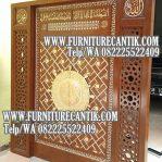 Model Pintu Kusen Masjid Kayu Jati Ukiran Jepara