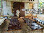 Model Pintu Masjid Jati Minimalis Kaligrafi