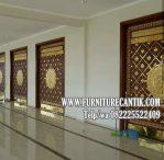 Model Pintu Masjid Kayu Jati Ukir Terbaru