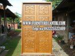 Model Pintu Utama Rumah Mewah Jati Terbaru