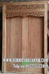 Model Pintu Utama Rumah Mewah Minimalis Tua