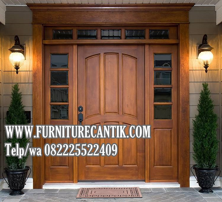Model Pintu Utama Rumah Mewah Minimalis