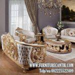 Model Kursi Tamu Mewah Sofa Jati Solid Ukiran