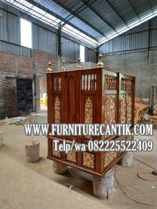 Model Mimbar Masjid Jati Model Terbaru Dari Jepara