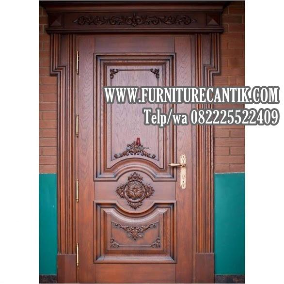 Model Pintu Kamar Tidur Rumah Mewah Jati