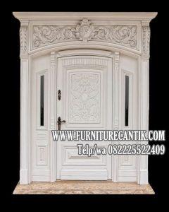 Model Pintu Utama Rumah Ukiran Mewah