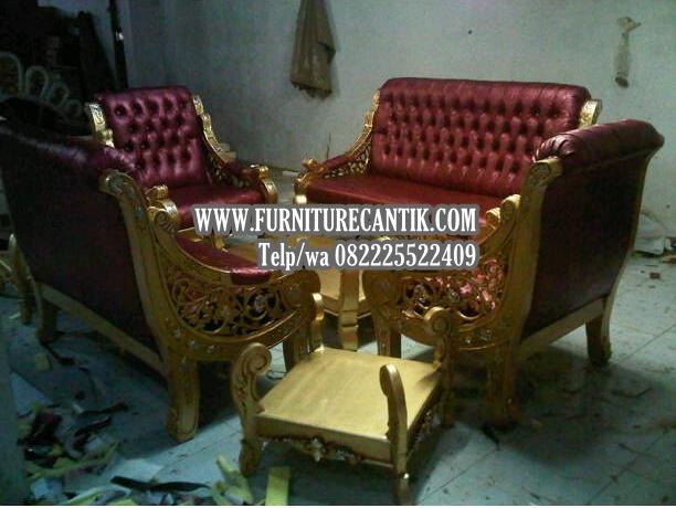 Model Sofa Ruang Tamu Mewah Kain Oscar