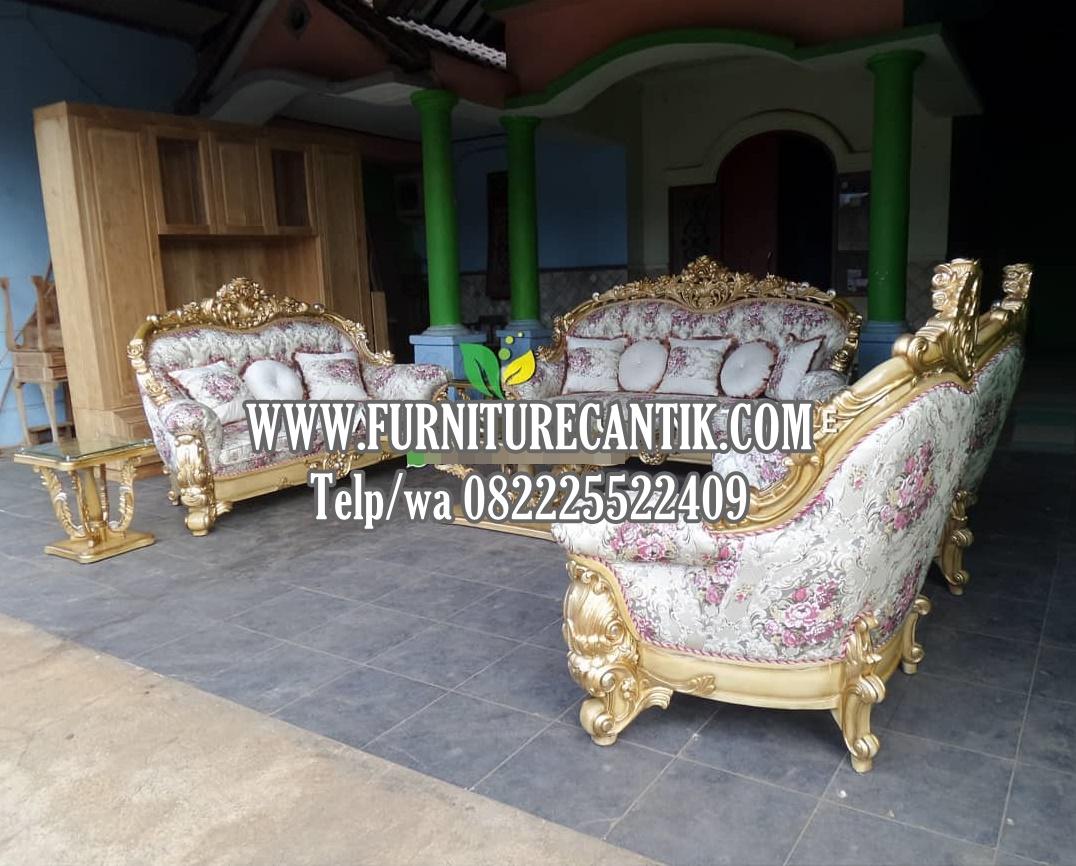 Model Sofa Tamu Ukiran Mewah Jepara Klasik