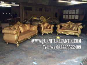 Model Sofa Tamu Ukiran Mewah Terbaru