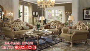 Model Kursi Sofa Ruang Tamu Mewah Kayu Jati Ukiran