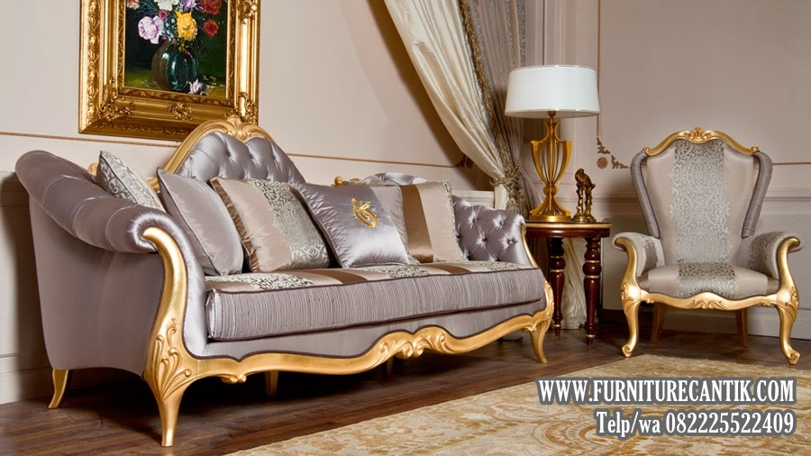 Sofa Tamu Ukiran Mewah Terbaru Jepara