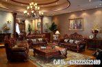 Model Sofa Ruang Tamu Mewah Kayu Jati Bagus