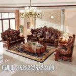 Model Sofa Ruang Tamu mewah Kayu Jati TPK Bagus