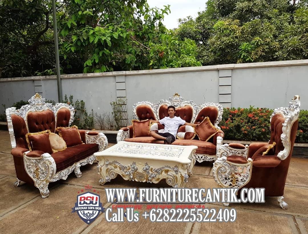 Model Sofa Tamu Mewah Ukiran Dari Jepara
