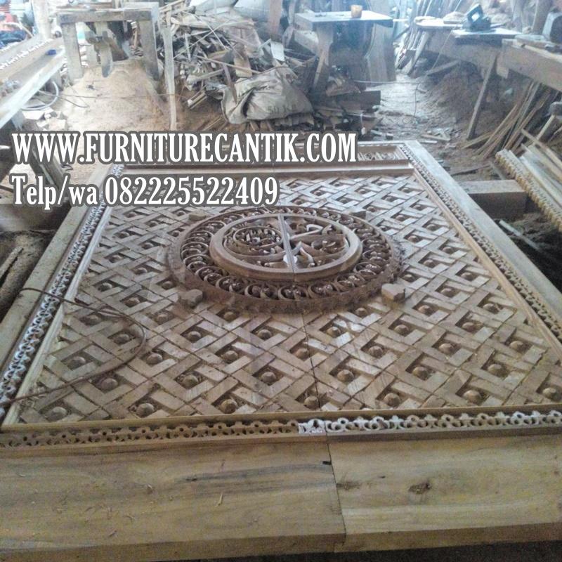 Model Pintu Masjid Jati Minimalis Jepara
