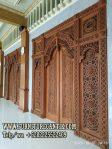 Model Pintu Masjid Kayu Jati TPK Ukiran
